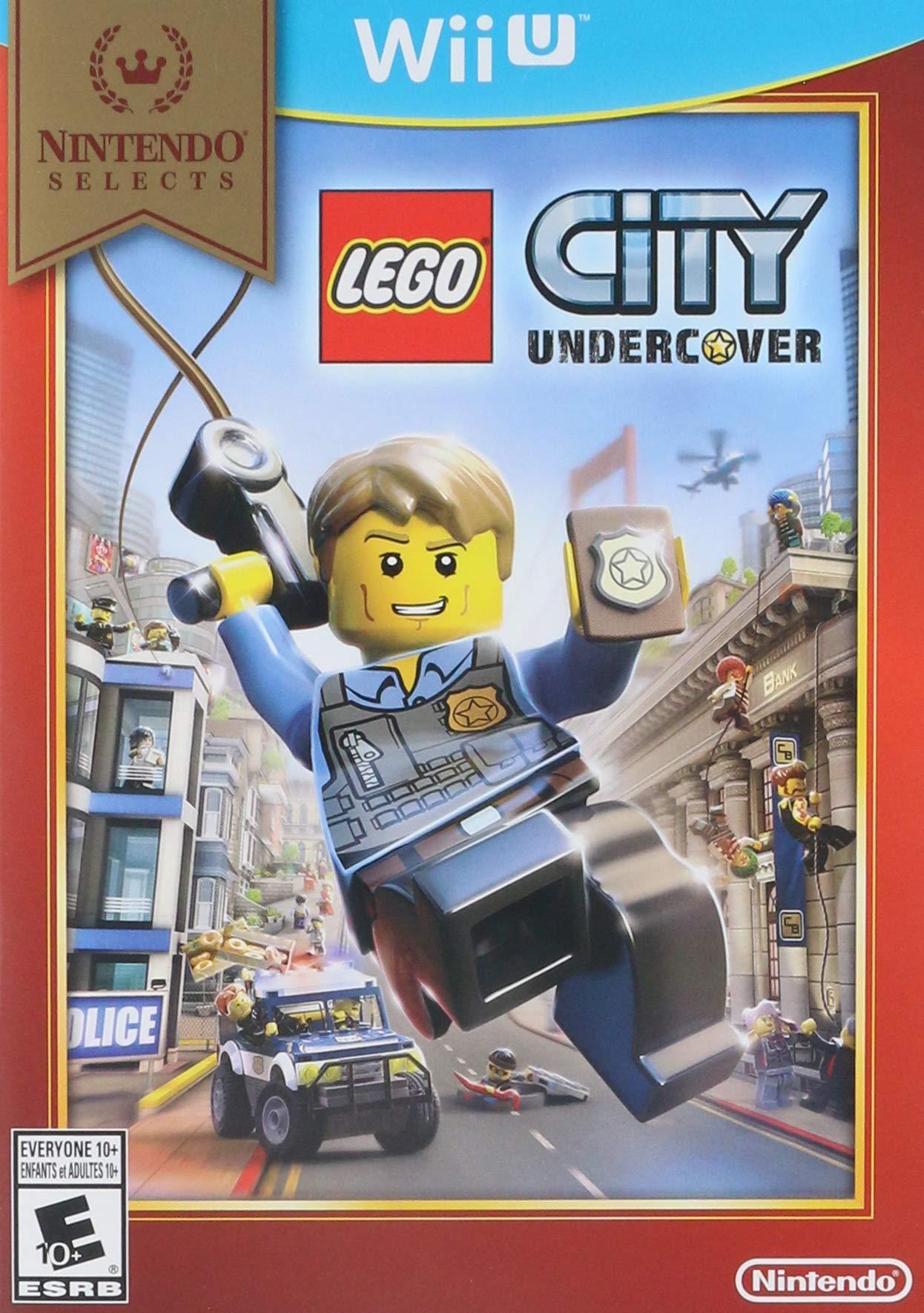 Amazon com: Nintendo Selects: Lego City: Undercover - Wii U: Video Games