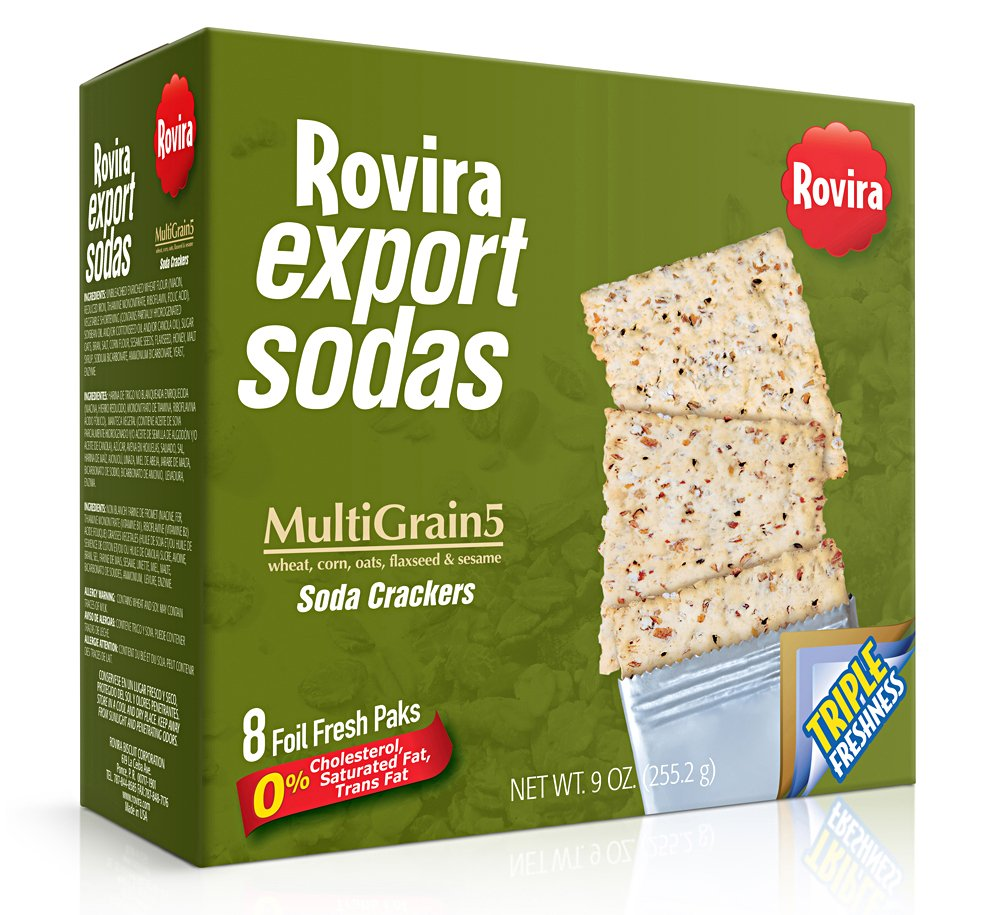 Rovira Export Sodas Crackers Multigrains