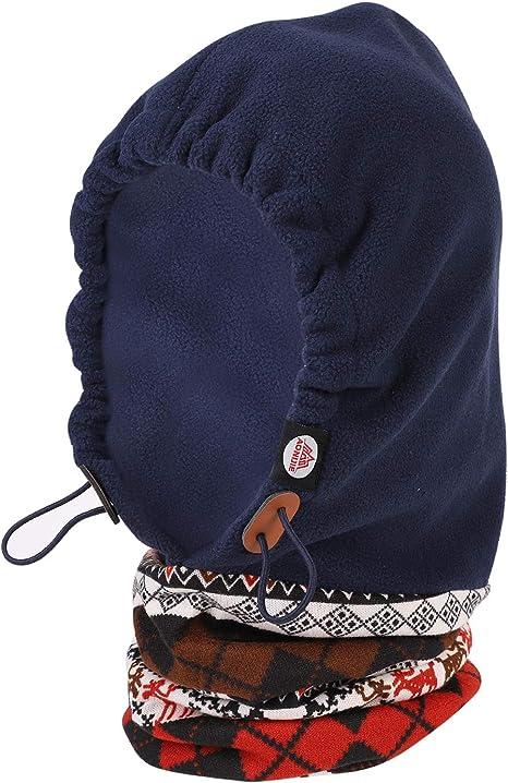 Gorra facial Sombrero de esquí para niños Protección contra el ...