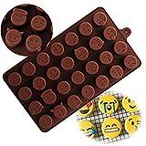 Lalang Emoji Emoticon Silikon Kuchenform Backwerkzeug Schkoladenform Selber Machen DIY Pralinenformen