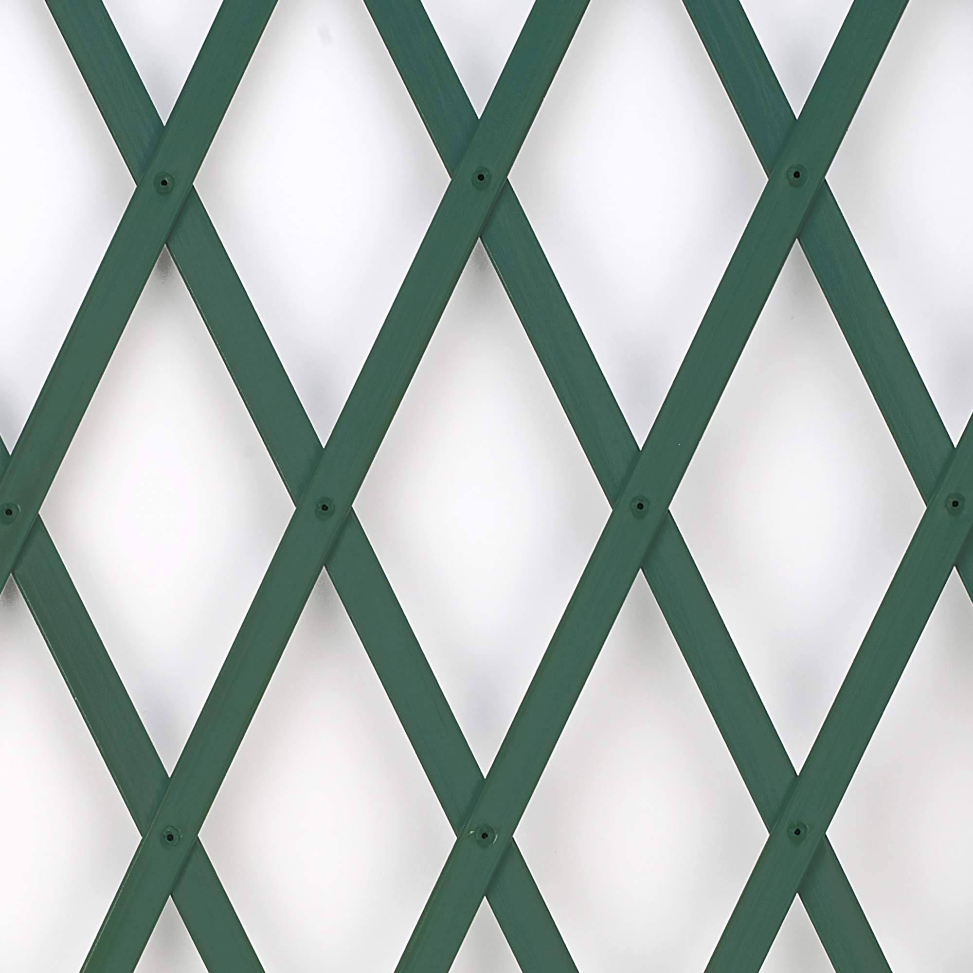 GREEN EXPANDING PVC GARDEN TRELLIS 1.8M X 40CM UK 9 X