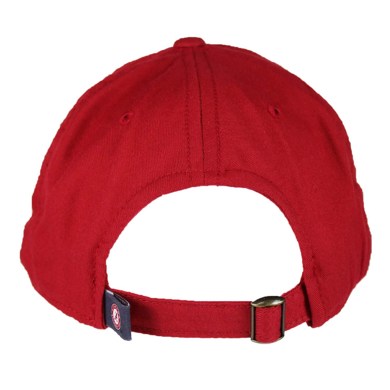 1831 Staple 4 Hat Cap 745183 Top of the World Alabama Crimson Tide Official NCAA Adjustable Red EST