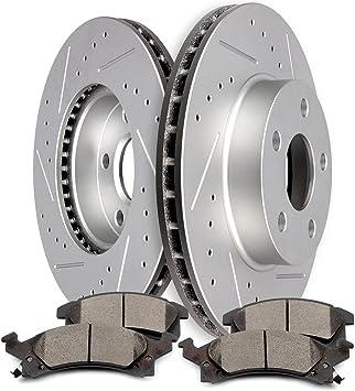 OE Replacement 2003 2004 2005 Pontiac Grand Am Rotors Ceramic Pads F