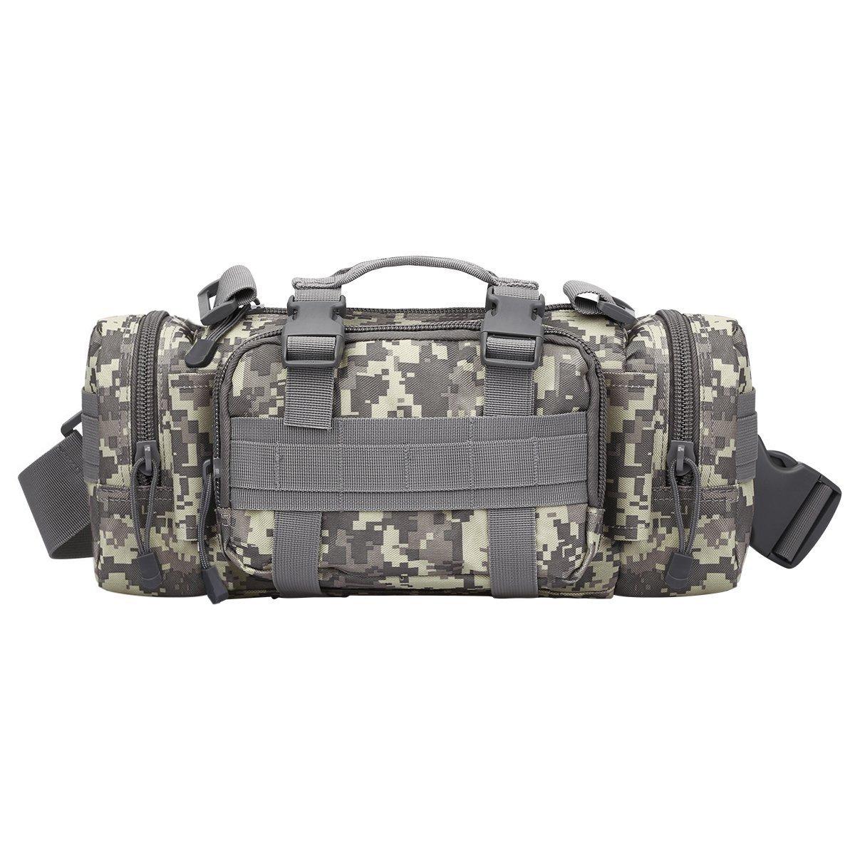 G4Free S-ZONE Multifonctions sac Tactique Waist Pack appareil photo Sac à dos Militaire Camping sac de ceinture Randonnee Sac à dos alpinisme étanche