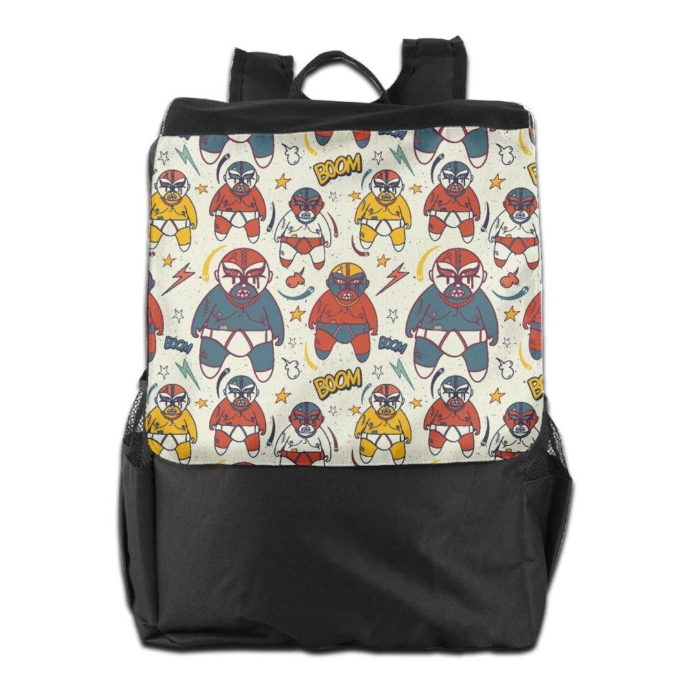 UGWATQ Cool Outdoor Men And Women Travel Backpack Trust The Work You Put In Wrestling Shoulder Bag by UGWATQ