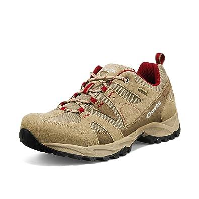 Clorts Women s Suede Hiking Shoe Waterproof Trail Shoe Brown HKL-828C US5.5 e05615efa
