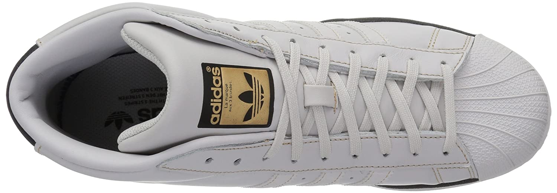 Amazon.com | adidas Originals Mens PRO Model Running Shoe Grey ONE/Black/Tactile Gold 10.5 Medium US | Fashion Sneakers