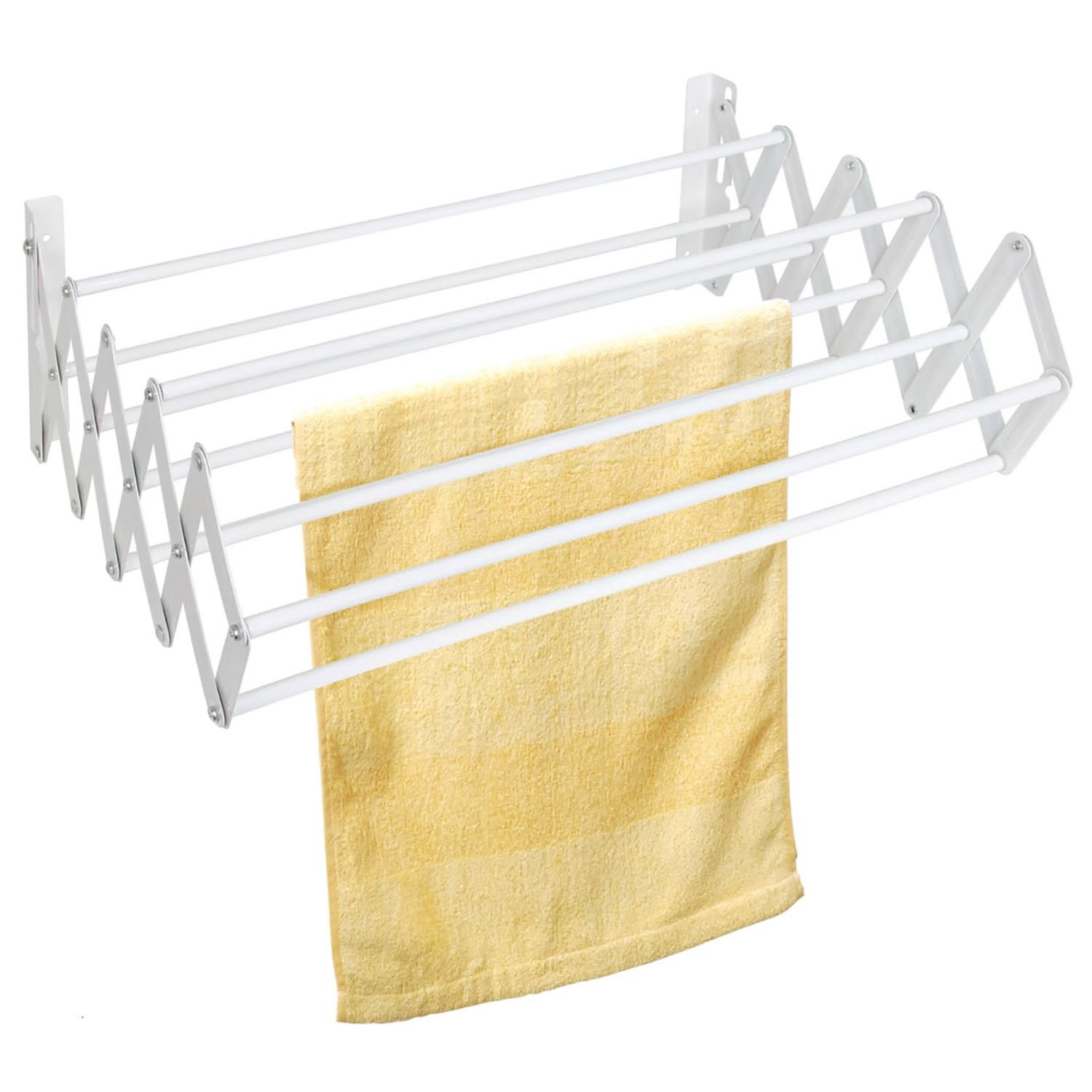 Top Home Solutions Wall Mounted Extendible Clothes Dryer Rack Amazoncouk
