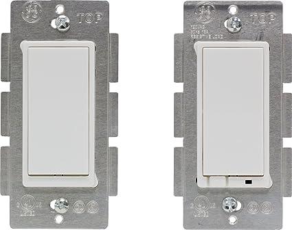 Latest ZWave Plus GE by Jasco Wireless Lighting Control ThreeWay