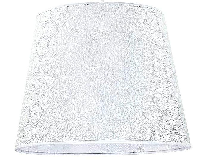 Großer Lampenschirm Ø38cm Gold Barock Muster für E27 Stehlampe Leuchte Schirm