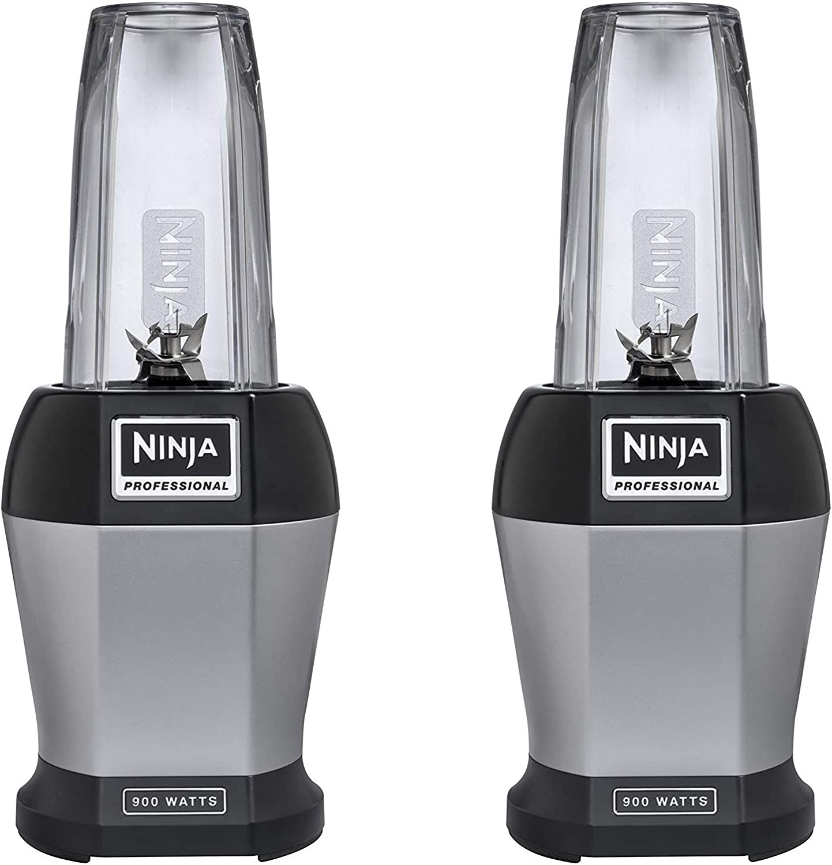 Licuadoras – encimera, 24 oz, plata/negro (1000 vatios batidora ...