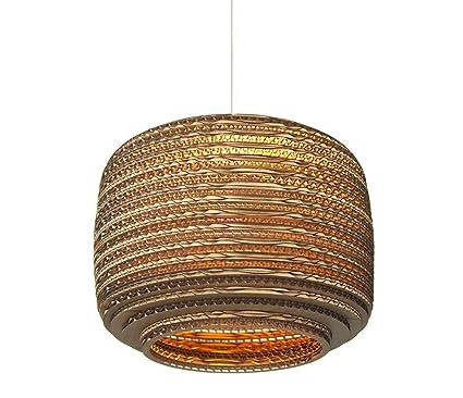 Graypants GP-111 - Lámpara de techo (30,4 cm, cartón ...