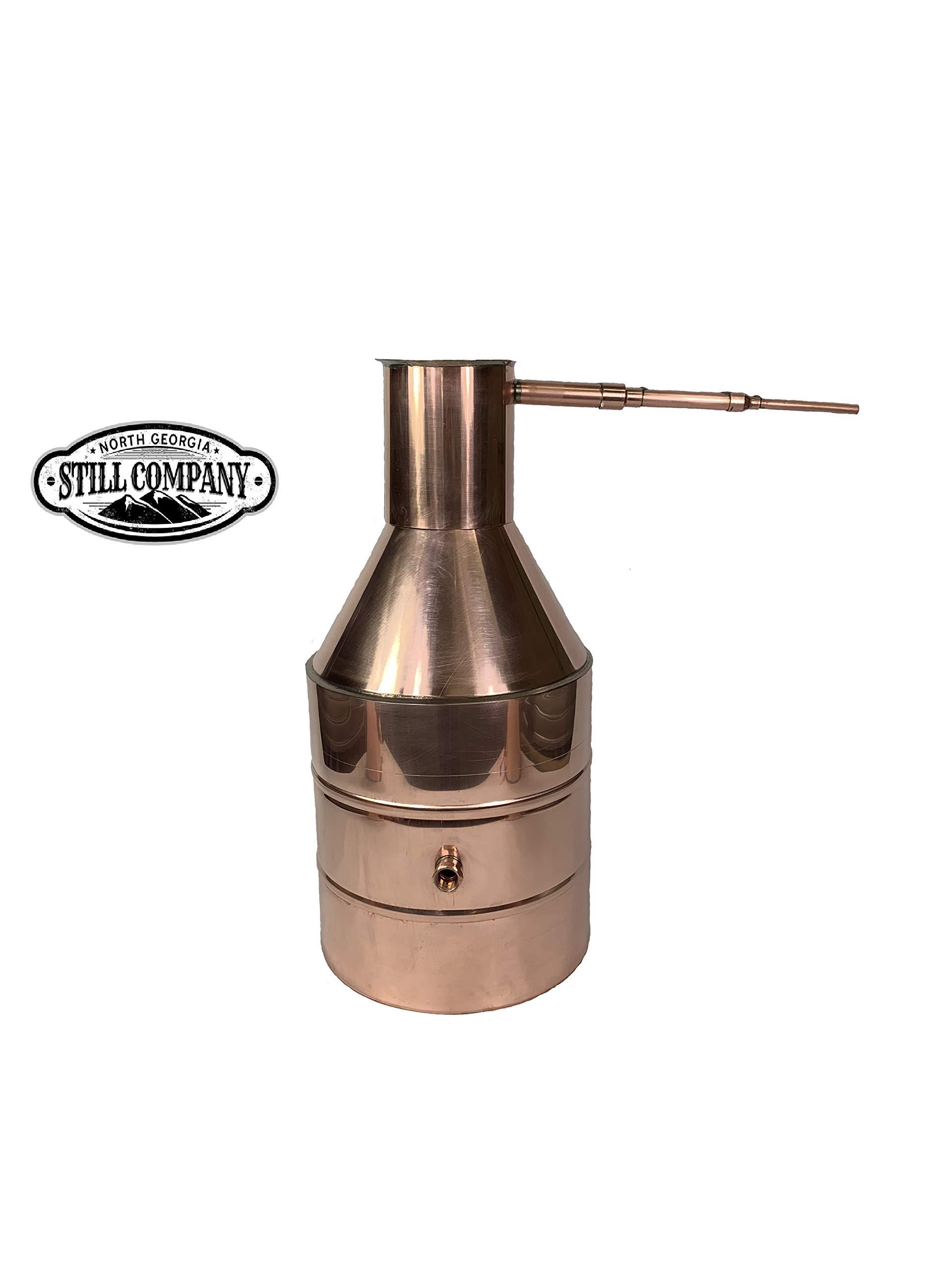 5 Gallon Copper Moonshine Whiskey & Brandy Still by North Georgia Still Company