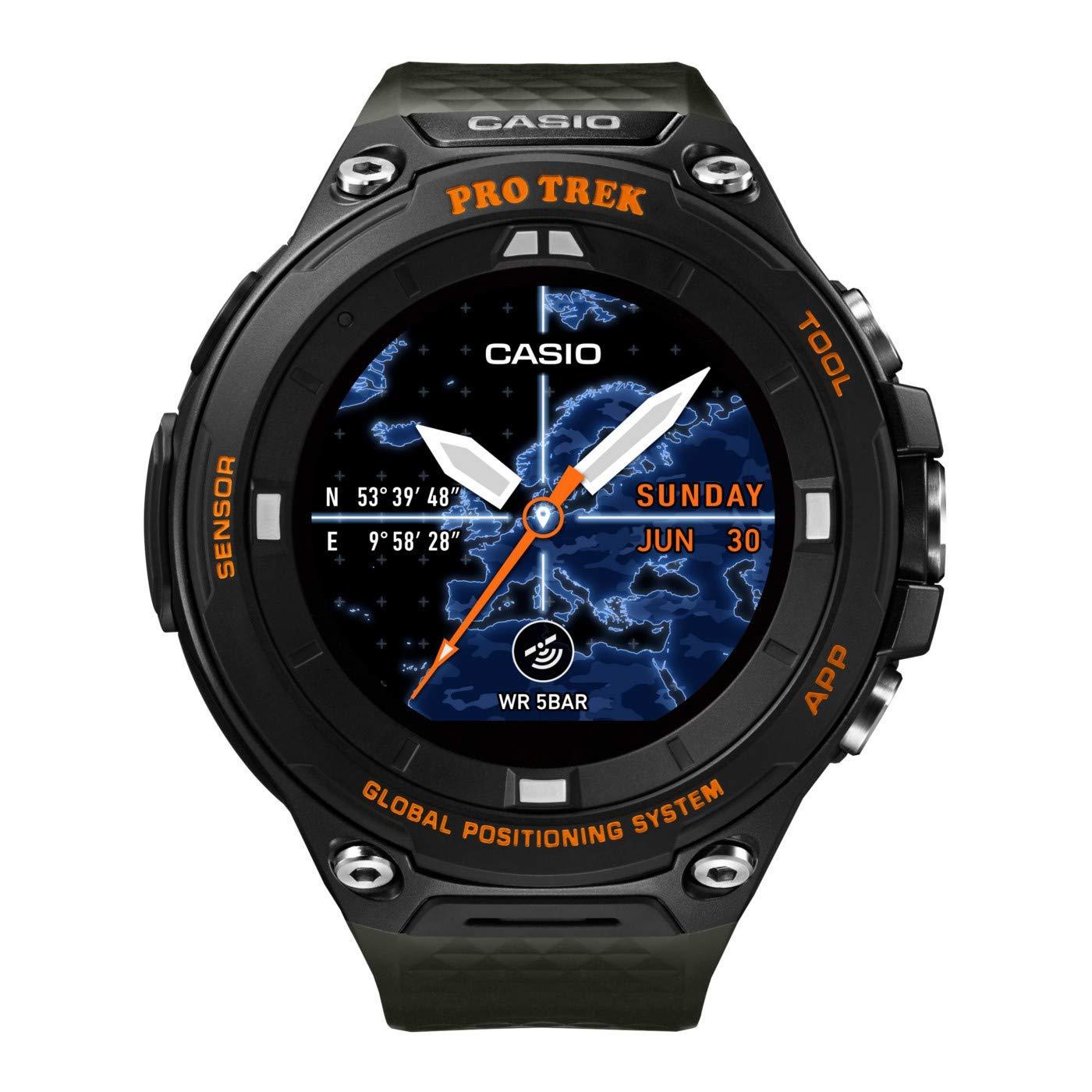 Reloj Casio WSD-F20A-GNBAE Negro Resina Hombre
