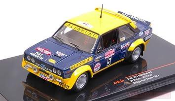 IXO Model RAC266 FIAT 131 Abarth N.5 Olio FIAT Sanremo W.ROHRL-