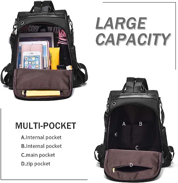 Amazon coupon code for Women Nylon Backpack Purse waterproof