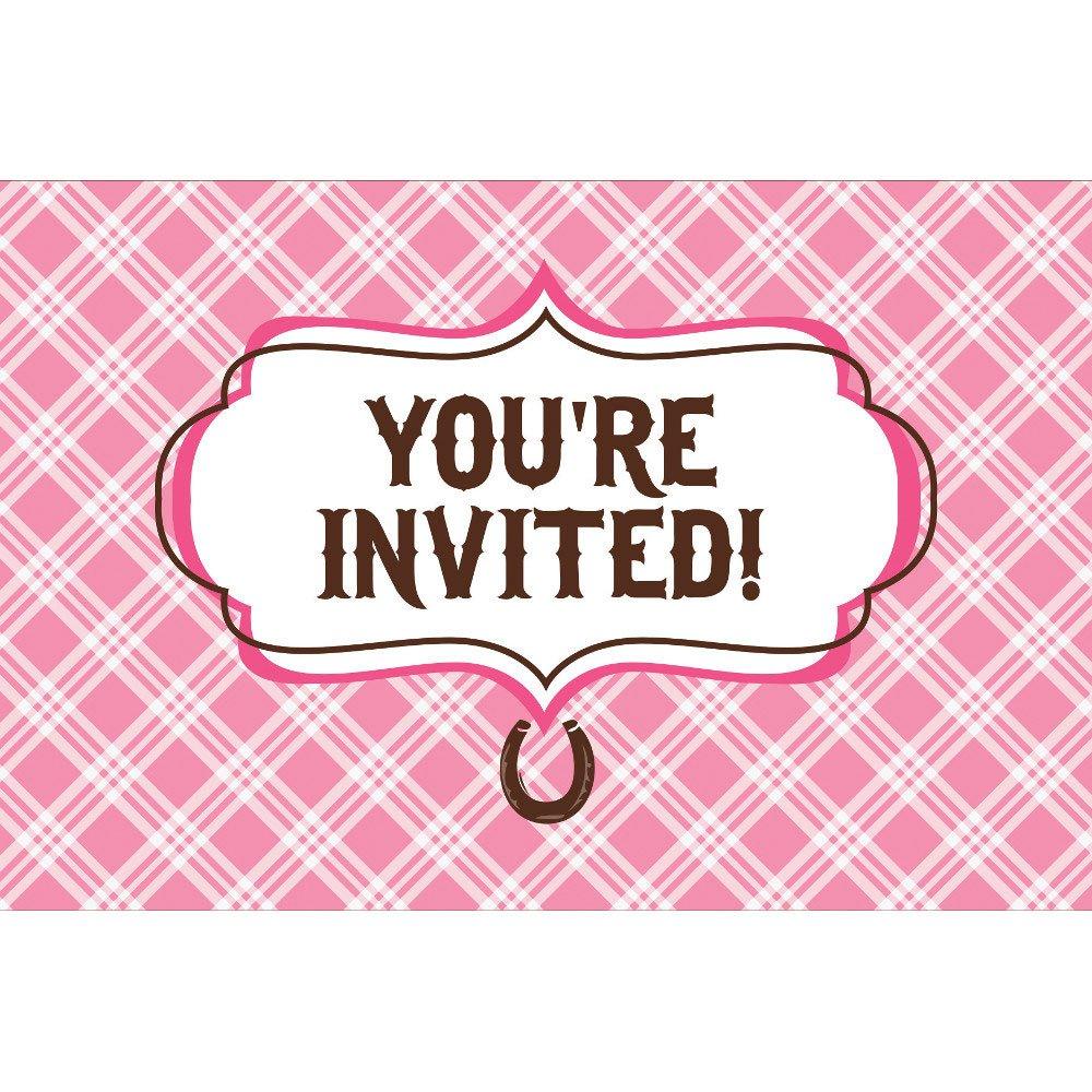 Amazon.com: Heart My Horse Invitation Gatefold (8) Invites ...