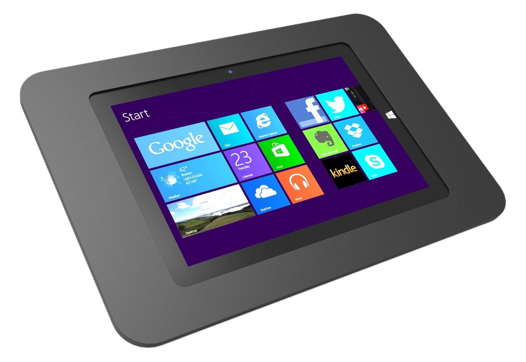 Maclocks 340B518ROKB Rokku Secure Enclosure Capsule Kiosk for Surface 3 10.8 Inch (Black)