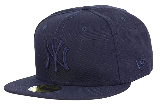 A NEW ERA Era York Yankees League Essential Navy MLB Cap 59fifty 5950  Fitted Men Special 2748bd4ca91