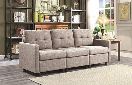 Astonishing Amazon Com Infini Furnishings Ind6013 9 Modular Sectional Short Links Chair Design For Home Short Linksinfo