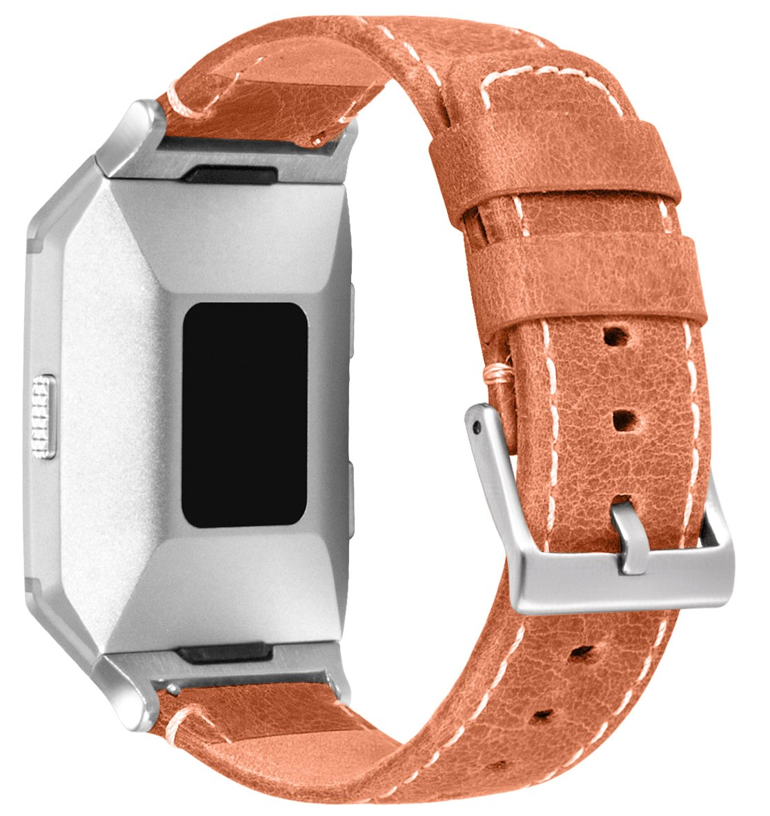 For Fitbit Ionic帯、treasuremax Genuineレザー交換用バンドアクセサリーfor Fitbit Ionic Smartwatch Staps Standard(5.5