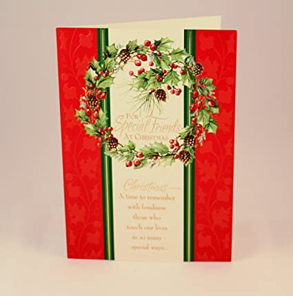 hallmark dayspring holiday christmas cards for special friends at christmas 16 cards in box
