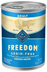 Grain Free Wet Dog Food from Blue Freedom