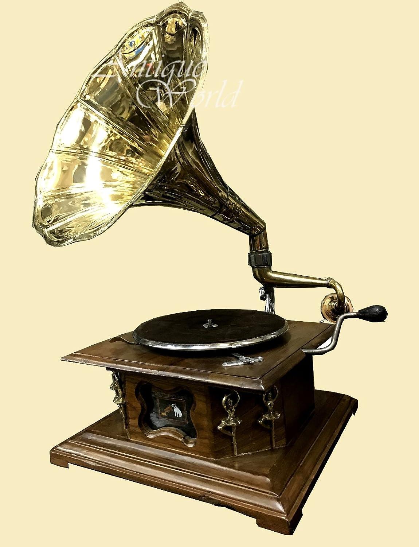 Amazoncom Antiques World Antique 1920 Hmv His Master Voice Turn