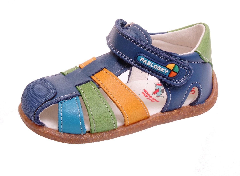 Pablosky , {Chaussures premiers pas pour bébé (garçon) bleu Bleu (azulon)  19: Amazon.fr: Chaussures et Sacs