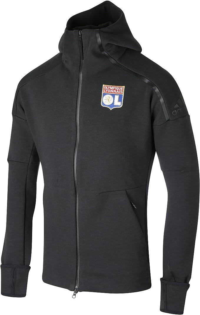 adidas Lyon Veste Molt OL h Vestes Replica Officielle