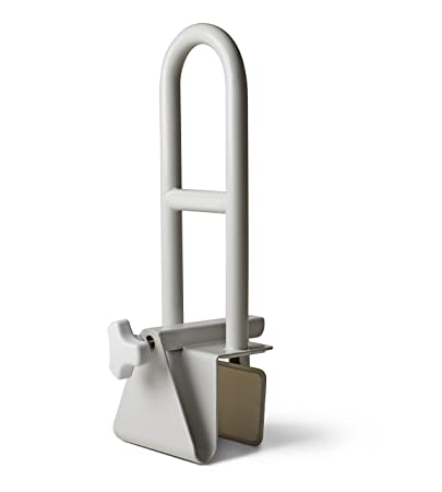 Amazon Com Medline Bathtub Safety Grab Bar Handle Clamps On To