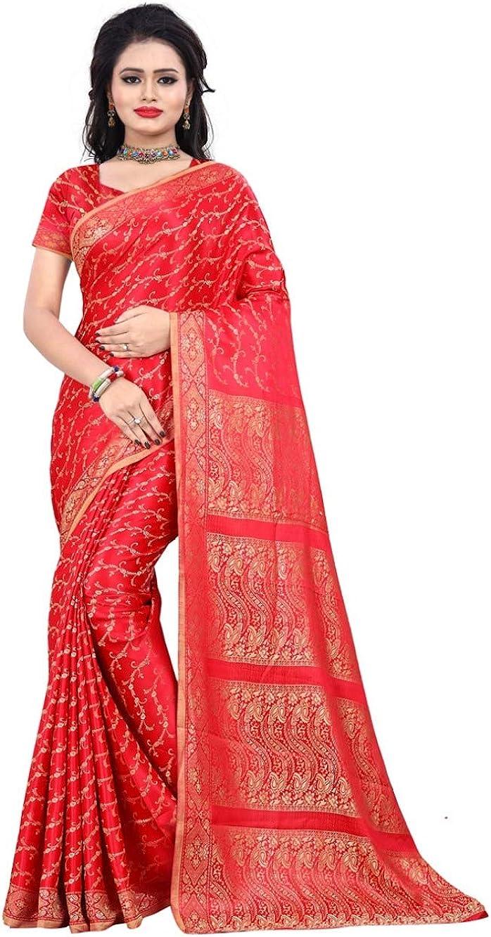 Trendofindia Fertig gewickelter Bollywood Sari Indien Wei/ß Gr S bis XXL