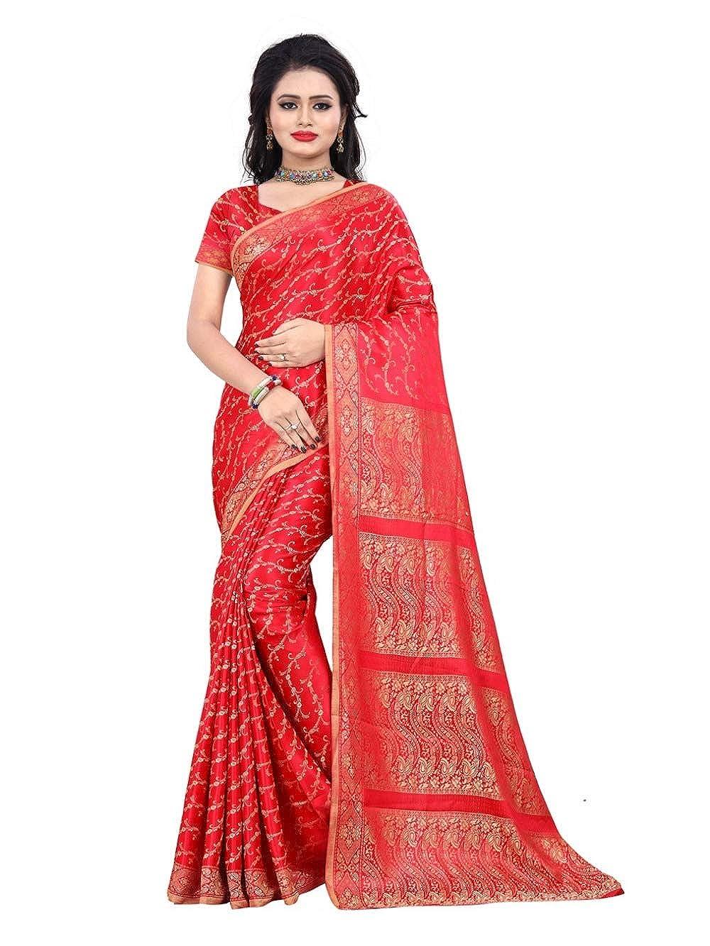 S bis XXL Trendofindia Fertig gewickelter Bollywood Sari Indien Gelb Gr