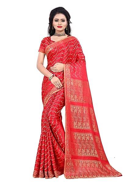 Trendofindia Bollywood CA103 – Vestido Sari Rojo