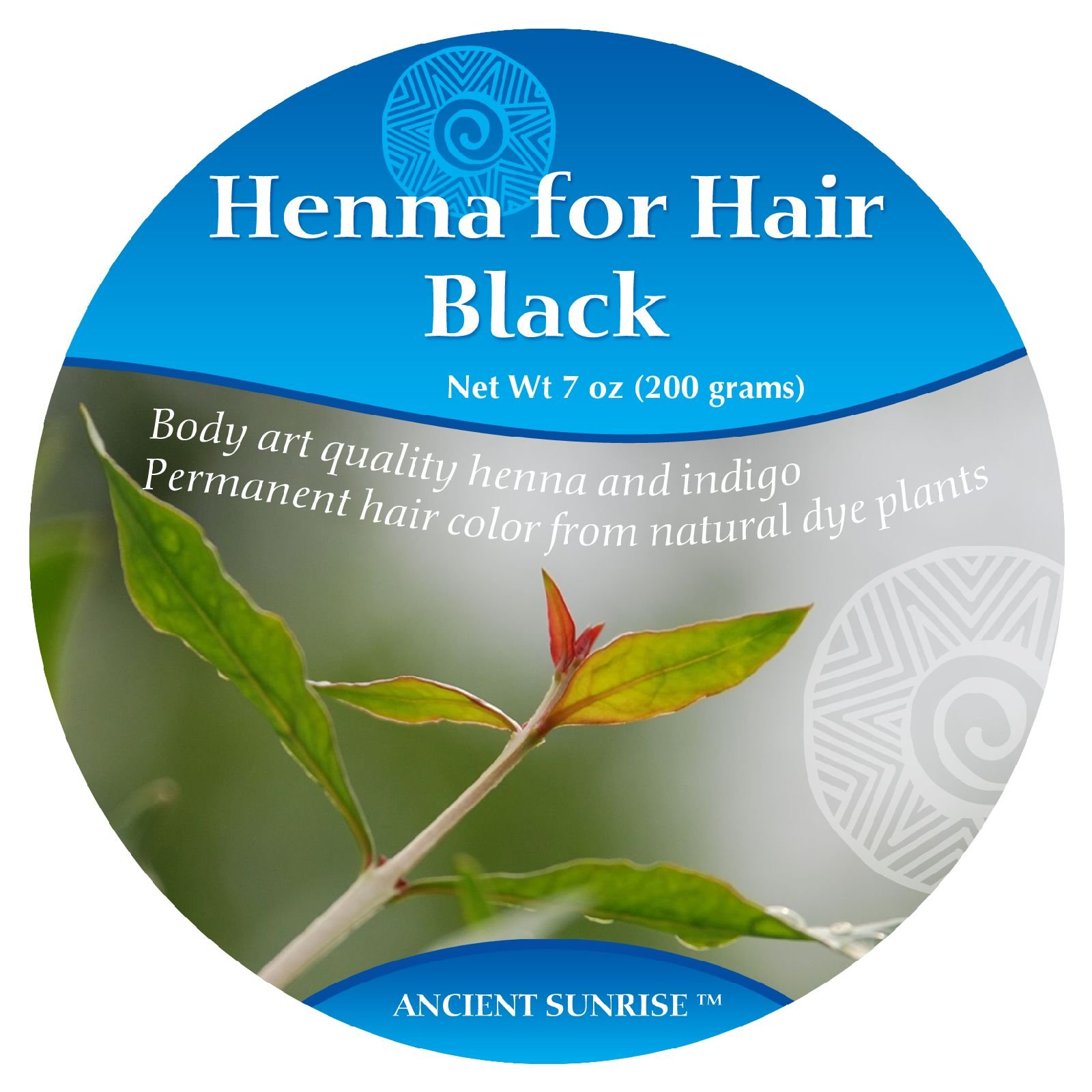 Ancient Sunrise Henna For Hair Black Kit by Ancient Sunrise