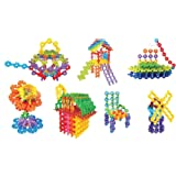 GUAngqi 150pcs Kid Body Snowflake Creative Building Plastic Toys Educational Toys for Kids Baby
