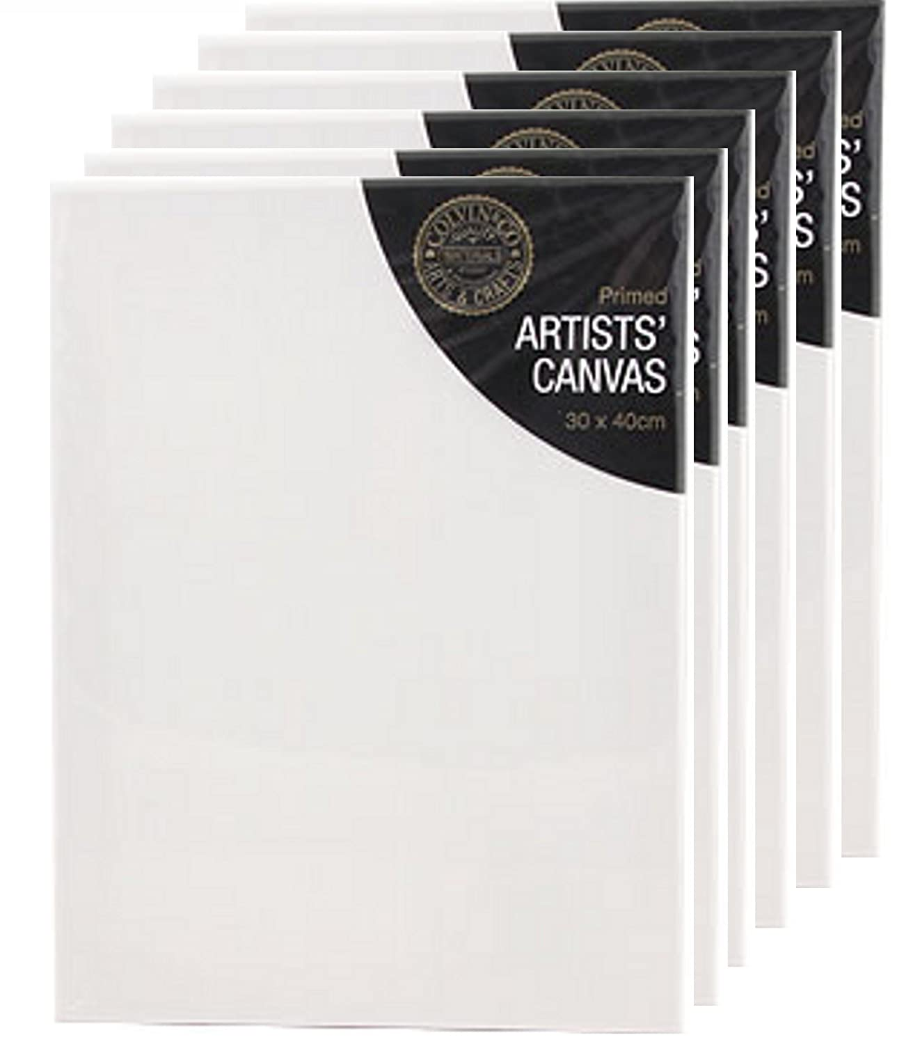 """16x12 /"""" STRETCHED CANVAS ARTIST BLANK ACRYLIC PRIMED BOX FRAMED 100/% COTTON ART"""