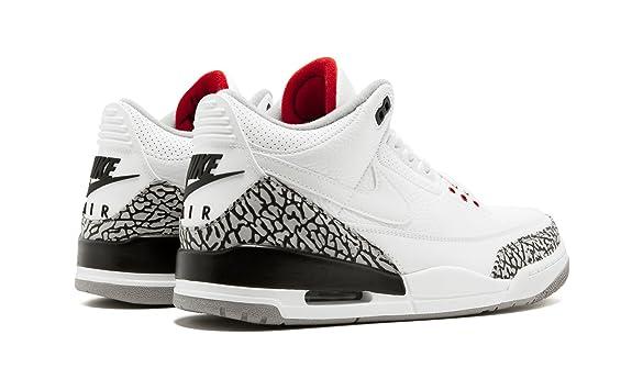 new style 4d9ea 43a0b Amazon.com   Jordan Air 3 Retro JTH NRG - AV6683 160   Fashion Sneakers
