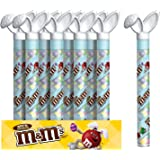 M&M'S Easter Milk Chocolate Candy in Bunny Canes 3-Ounce Cane 24-Count Box