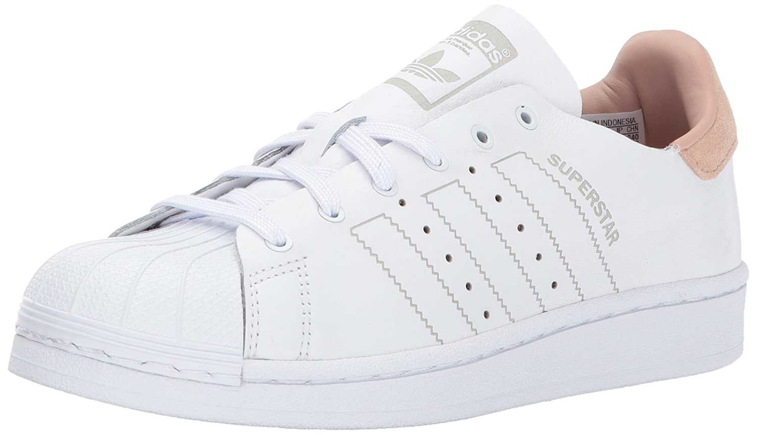 adidas Originals Women's Superstar Decon Shoes B01N2TZAFJ 8 M US|White/White/White