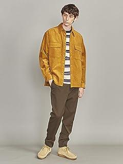 8-wale Corduroy CPO Shirt 1226-163-0042: Mustard