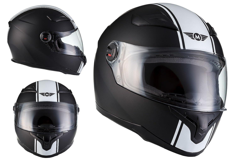 Amazon.es: MOTO X86 Racing Matt Black · Moto motocicleta Urban Cruiser Urbano Casco Integrale Fullface-Helmet Scooter Sport · ECE certificado · visera ...