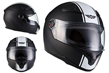 MOTO X86 Racing Matt Black · Moto motocicleta Urban Cruiser Urbano Casco Integrale Fullface-Helmet