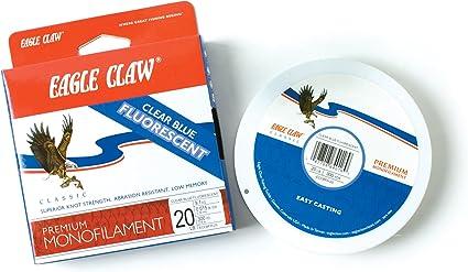 Eagle Claw 6# Premium Monofilament Line 1000 yards