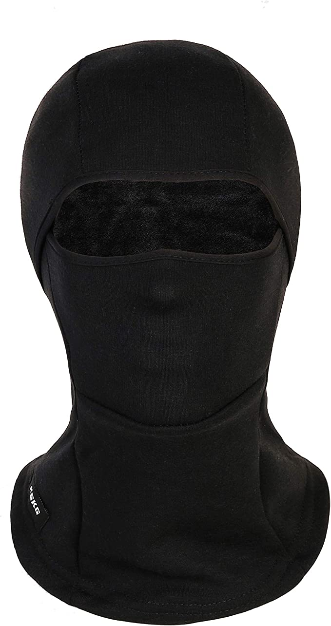 KSKG Ski Mask Winter Windproof Fleece Thermal Full Face Helmet and Neck Warmer Motorcycle Cycling Balaclava