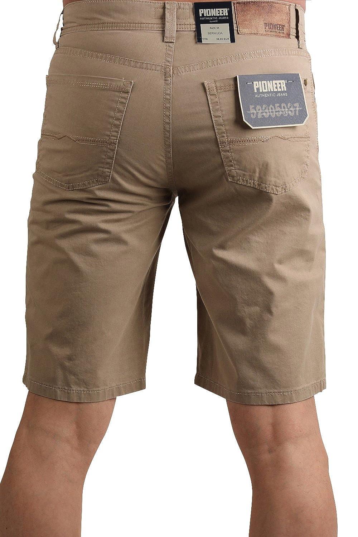 PIONEER Jeans Stretch-Bermuda 1351-3848-23 Sand: Hosengröße: W44:  Amazon.de: Bekleidung