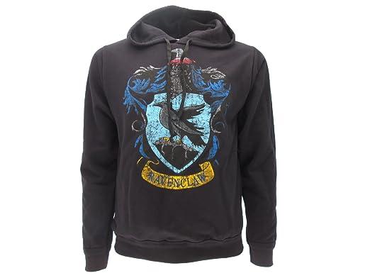 Sudadera con Capucha Hoodie Ravenclaw de Harry Potter - 100% Original y Oficial Warner Bros: Amazon.es: Ropa y accesorios