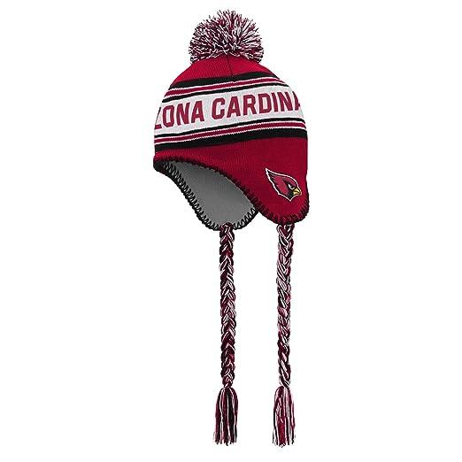 sale retailer ac9f4 6a349 Amazon.com   Outerstuff NFL Boys 4-7 Tassel Knit with Pom Hat-Cardinal-1  Size, Arizona Cardinals   Clothing