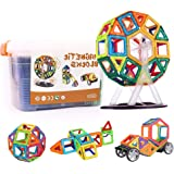 Magnetic Blocks,Teslasz 3D Real Strong Magnetic Building Tiles Building Educational Toys for Girls & Boys,Tiles with Innovative Build Magnets Great Christmas Gift for Toddlers with Storage Box-70pcs