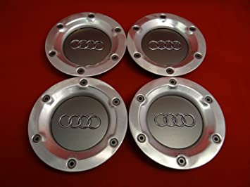 Amazoncom Pcs NEW AUDI WHEEL CENTER CAP QUATTRO TT MK RS COUPE - Audi wheel center caps